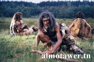 كيف كان يعيش الإنسان قديما