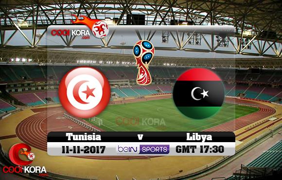 فيديو : مباشر تونس VS ليبيا