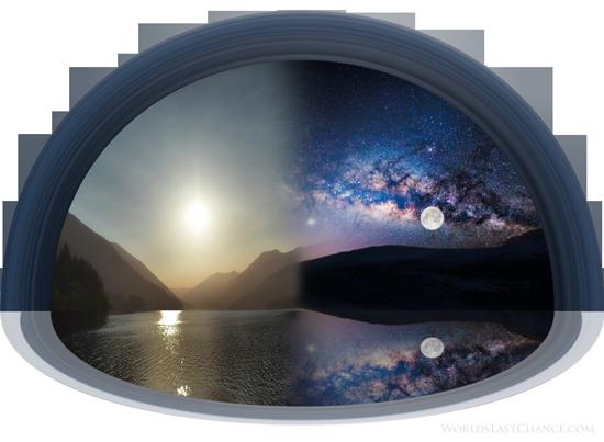 الحلقة 3 سلسلة الأرض المسطحة –  عدسة عين السمكة لتصوير كروية الأرض