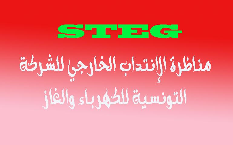 مناظرة الإنتداب الخارجي للشركة التونسية للكهرباء والغاز