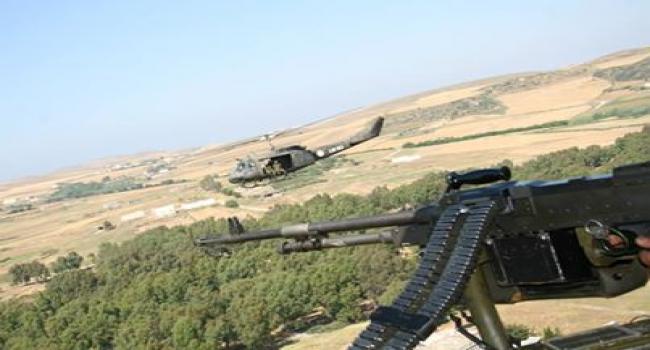 الكشف على مخيّم لعناصر إرهابيّة بمرتفعات القصرين