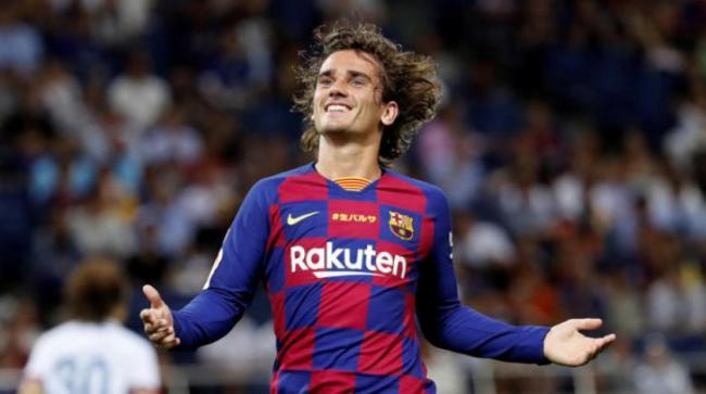تغريم برشلونة 300 يورو لانتهاكه اللوائح بضم غريزمان