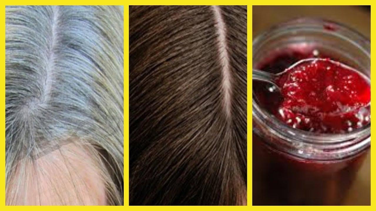 لا ترمي قشور الرمان و تخلصي من شيب الشعر حتى لو كان شعرك كله أبيض و من الإستعمال الأول