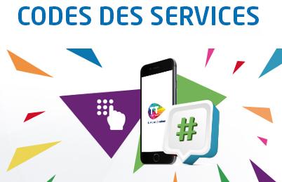 اتصالات تونس: رموز الخدمة