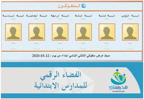 الفضاء الرقمي للمدارس الابتدائية بتونس موقع الفضاء الرقمي