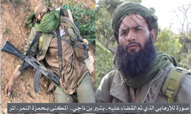 وزارة الداخليّة تنشر صور الإرهابيين الجزائريين الذين تمّ القضاء عليهما بسبيطلة