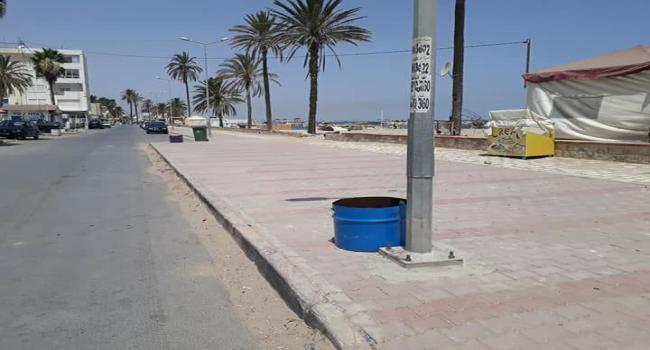 حمّام الأنف: سرقة 7 حاويات قمامة بالشاطئ