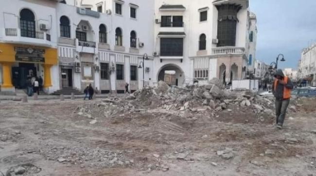 هدم نافورة باب سويقة : بلدية تونس توضح