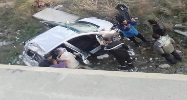 عــاجل: سقوط سيارة من فوق قنطرة رادس حلق الوادي