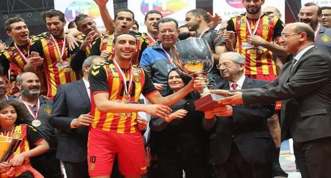 رئيس مجلس نواب الشعب يشرف على نهائي كأس تونس للكرة الطائرة
